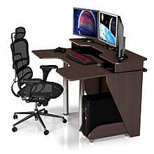 Геймерский игровой компьютерный прямой стол ZEUS™ / ЗЕУС™ IGROK / ИГРОК 5