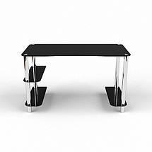 Стеклянный компьютерный прямой стол БЦ Стол Магистр, фото 2