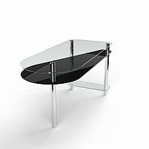 Стеклянный компьютерный прямой стол БЦ Стол Рамундо, фото 3