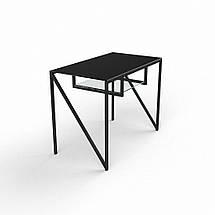 Стеклянный компьютерный прямой стол БЦ Стол Лорен, фото 3