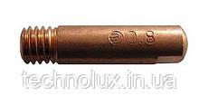 Токосъемный наконечник Binzel для сварочных полуавтоматов ф0,8/М6/25
