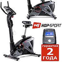 Напольный велотренажер HS-090H Apollo graphite/black,Электромагнитная,18,5,Тип Вертикальный , Скорость|Дистанция|Расход калорий|Частота пульса|Время,