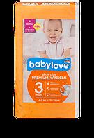 "Babylove премиум-подгузники ""3"" 50шт 4-9кг Premium-Windeln midi 4-9 kg"
