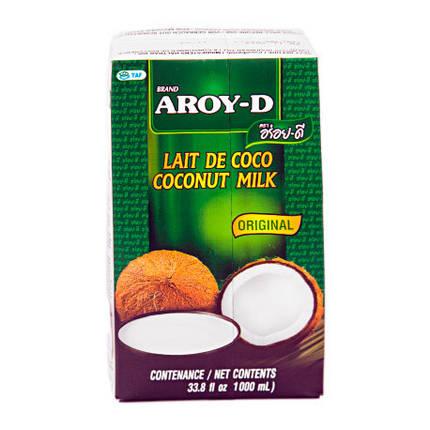 Кокосовое молоко Aroy-D, 1л, фото 2