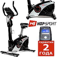 Стильний велотренажер HS-090H Apollo black/silver,Электромагнитная,18,5,Максимальный вес пользователя 150 кг, 13, Домашнее, BA100, 1 - 10, 1 - 9,