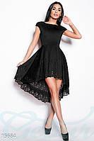 Ассиметричное вечернее платье Gepur Flawless 15684