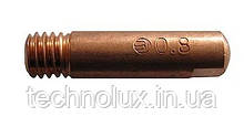Токосъемный наконечник Binzel для сварочных полуавтоматов ф1,0/М6/25
