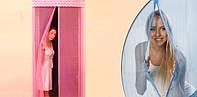 Дверная антимоскитная сетка на магнитной ленте (90*210)