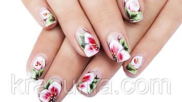 Особенности китайской техники росписи ногтей