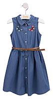 Платье для девочки джинсовое (116-140р) (Bembi)Бемби Украина ПЛ242
