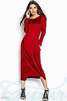 Комфортное трикотажное платье Gepur Spring wind 20109