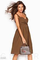 Деловой женский сарафан Gepur Lively 22363