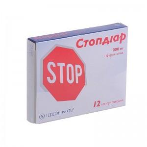 Стопдиар -Острая диарея инфекционного генез (12капс.,Польша)