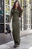Теплое трикотажное платье Gepur October 23541