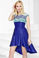 Яркое каскадное платье Gepur Glory 23799