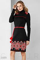 Теплое вязаное платье Gepur Rhythm 23885