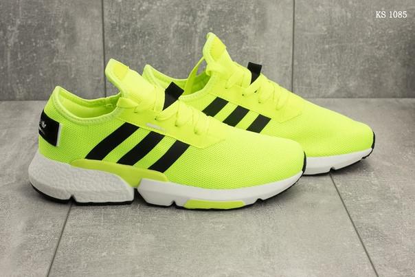 Мужские кроссовки Adidas (салатовые)