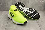 Мужские кроссовки Adidas (салатовые), фото 2