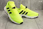 Мужские кроссовки Adidas (салатовые), фото 5