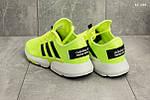 Мужские кроссовки Adidas (салатовые), фото 4