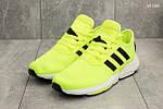 Мужские кроссовки Adidas (салатовые), фото 3