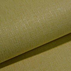 Обои для стен шпалери дуплексні на паперовій основі жовті без підбору Прайм  однотонні  0,53*10м