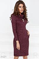 Трикотажное платье-хомут Gepur Miss 24221