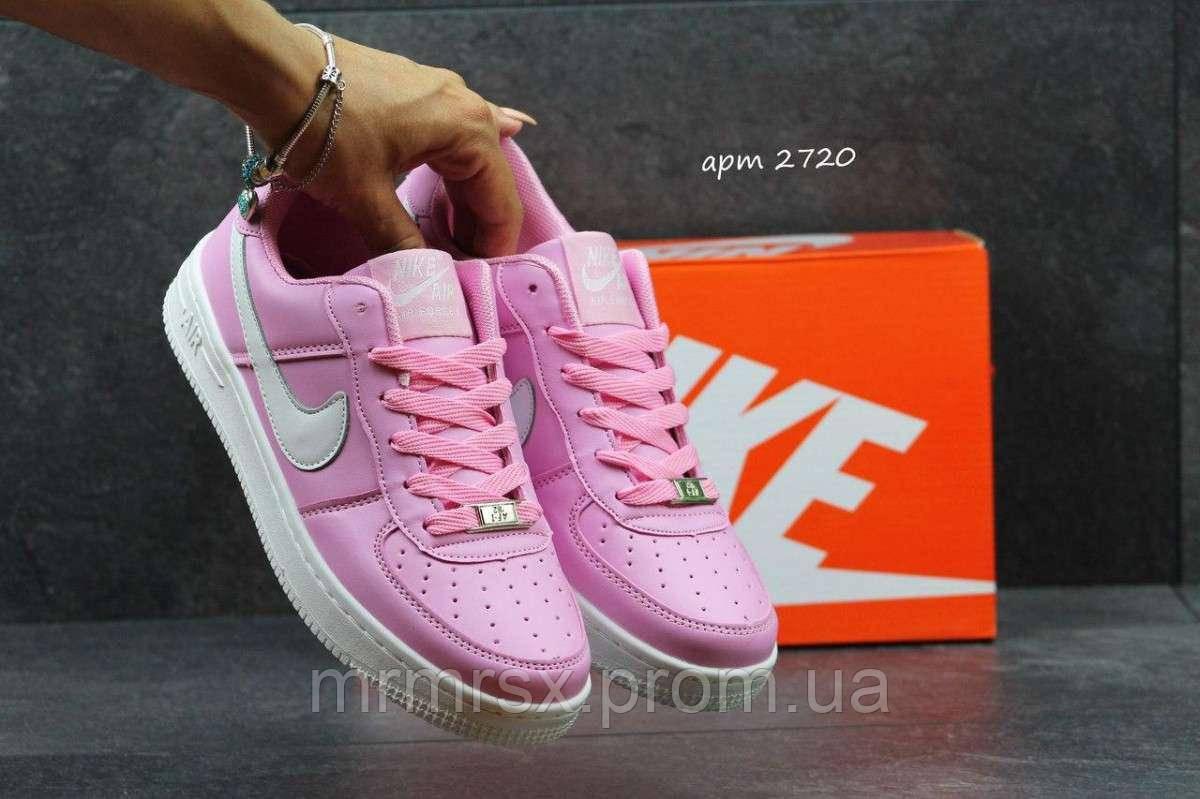 e698ce6a Женские кроссовки Nike Air Force розовые 2720, цена 652 грн., купить Боярка  — Prom.ua (ID#973850778)