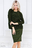 Комфортный юбочный костюм Gepur December fair 24376