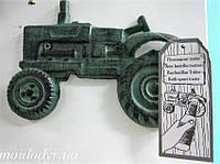 Декоративная открывалка для бутылок Трактор, накладка, фото 1