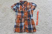 Рубашка для девочек 8 лет