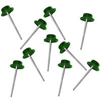 Гвозди кровельные зеленые 100 шт