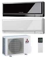 Кондиционер Mitsubishi Design Inverter MSZ-EF35VEB/W MUZ-EF35VE (black/white) до 35м2