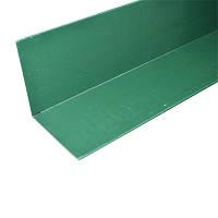 Планка внутреннего угла полиэстер 2 м зеленый