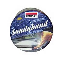 Лента битумная Soudaband 10 см алюминий