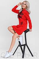 Спортивное платье-туника Gepur Winter mood 29389