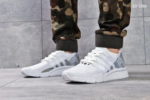 Мужские кроссовки Adidas EQT Support (белые)