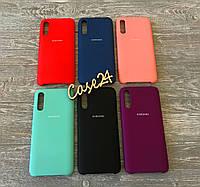 Чехол Soft touch для Samsung Galaxy A70 (6 цветов)