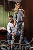 Трикотажный костюм с принтом Gepur Allure 10667