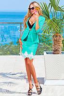 Интересный деловой костюм Gepur Sunny day 13094