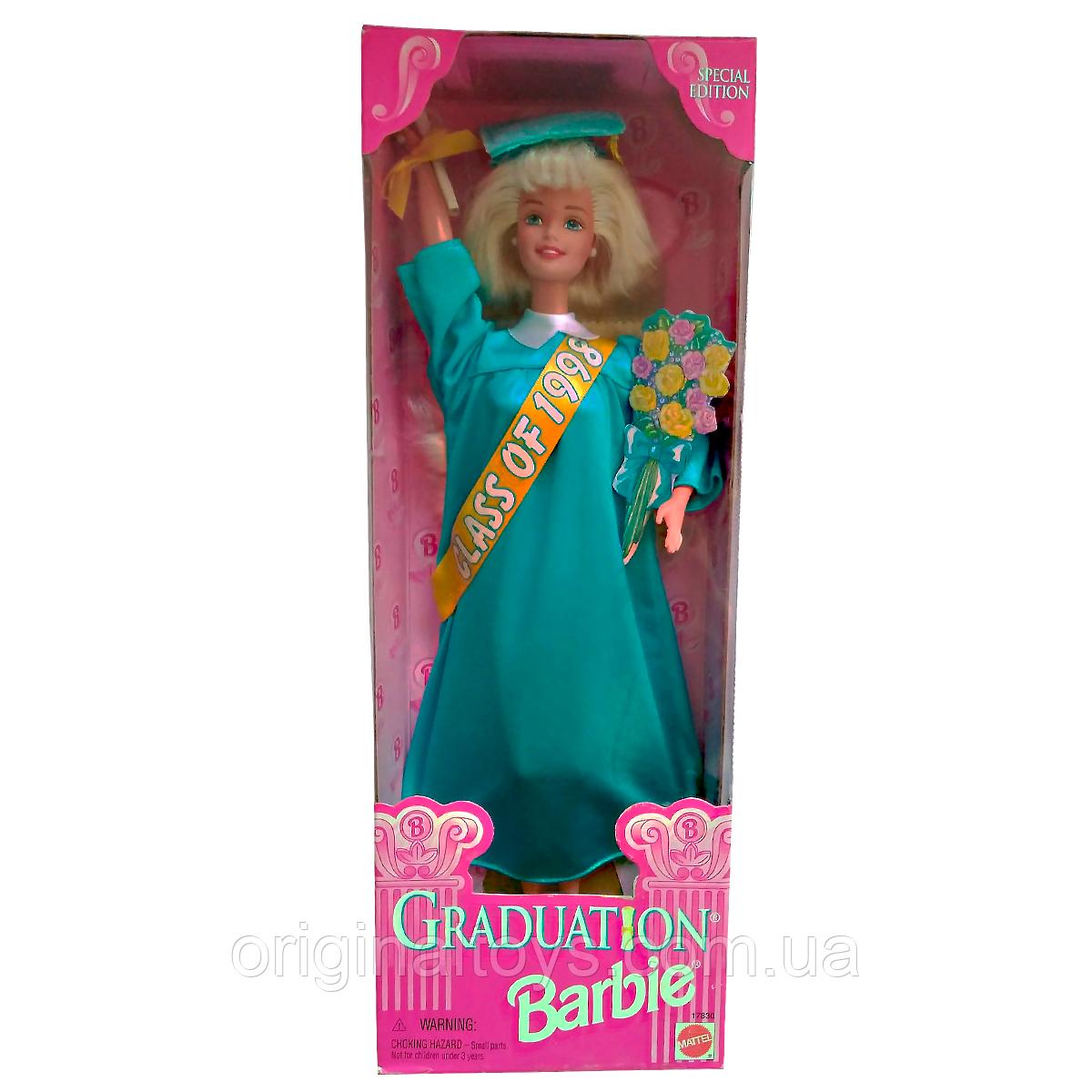 Коллекционная кукла Барби Выпускной 98 Barbie Graduation Barbie Class of 1998 Special Edition Mattel 17830