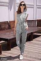 Деловой костюм с жилетом Gepur Siesta 27051