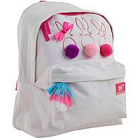 Рюкзак молодежный 1 Вересня Funny Bunnies, фото 1