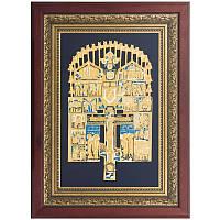 Крест 'Распятие Христово с предстоящими и избранными иконами'