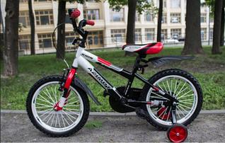 """Детский двухколесный велосипед Azimut Stitch 12"""" красный (12 дюймов)"""