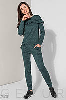 Комфортный костюм с декором Gepur The new edit 29678