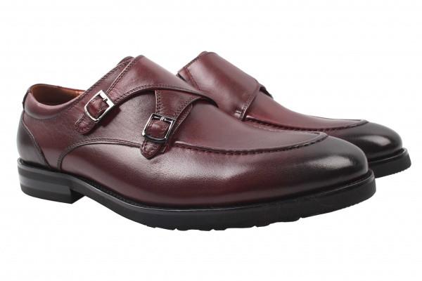 Туфли Lido Marinozzi натуральная кожа, цвет бордо