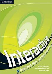 Interactive 1 Teacher's Book with Online Content