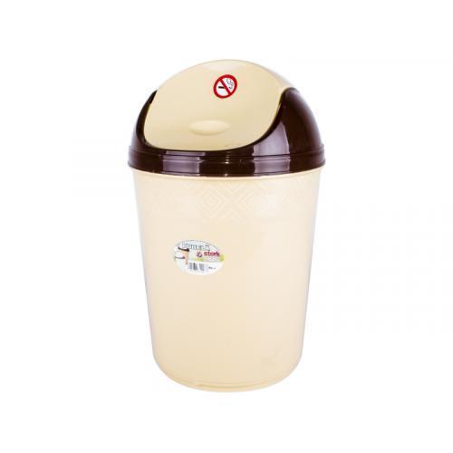 Ведро для мусора 6л пристенное №2 040077 Стерк