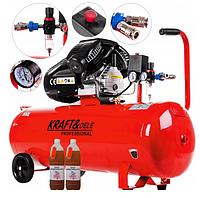 Масляный компрессор KRAFT & DELE KD1480, фото 1